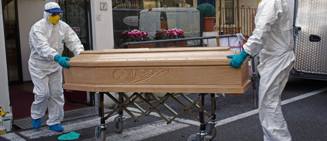 Business booms for Coffin-makers in France as death toll increases