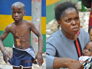 See photo of Woman who drilled a hole in the head of her 10years old housemaid