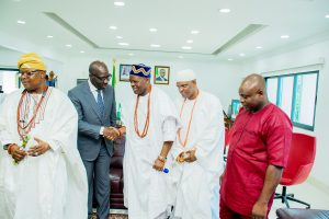 Governor Obaseki campaigns massively as he visits traditional rulers in Edo state (full breakdown)