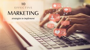 10 Effective Ways To Market Your Business